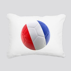 France world cup ball Rectangular Canvas Pillow