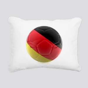 Germany world cup ball Rectangular Canvas Pillow