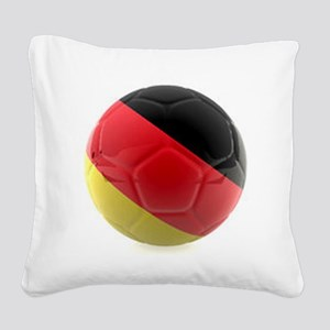 Germany world cup ball Square Canvas Pillow