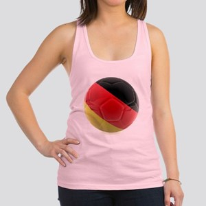 Germany world cup ball Racerback Tank Top