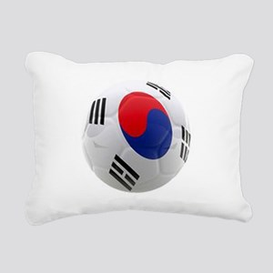 South Korea world cup soccer ball Rectangular Canv