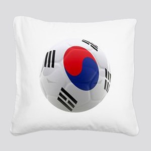 South Korea world cup soccer ball Square Canvas Pi
