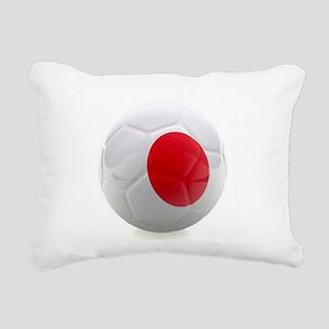 Japan World Cup Ball Rectangular Canvas Pillow