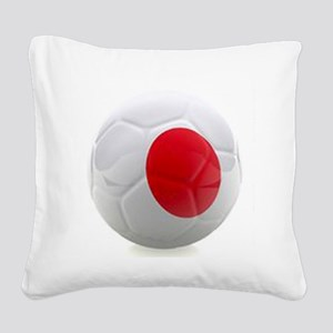 Japan World Cup Ball Square Canvas Pillow