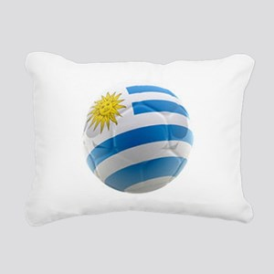 Uruguay World Cup Ball Rectangular Canvas Pillow