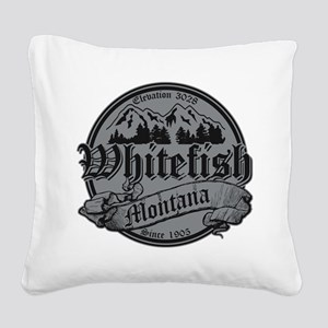 Whitefish Old Canterbury Invert Silver Square