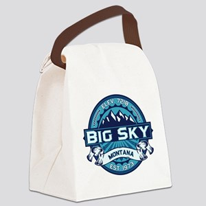 Big Sky Ice Canvas Lunch Bag