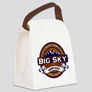Big Sky Vibrant Canvas Lunch Bag