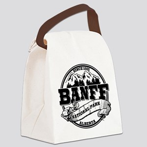 Banff NP Old Circle Black Canvas Lunch Bag