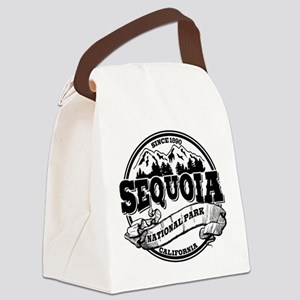 Sequoia Old Circle Black Canvas Lunch Bag