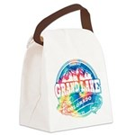 Grand Lake Old Circle Canvas Lunch Bag