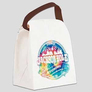 Jackson Hole Old Circle Black Canvas Lunch Bag
