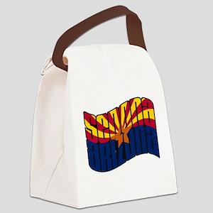 Sedona Arizona Flag Canvas Lunch Bag
