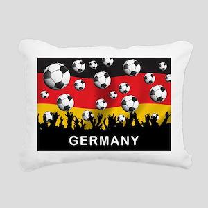 Germany Football Rectangular Canvas Pillow