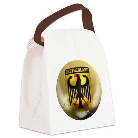 Deutschland Football Canvas Lunch Bag