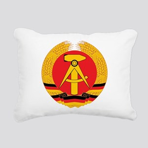 East Germany Rectangular Canvas Pillow