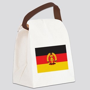 East Germany Flag Canvas Lunch Bag