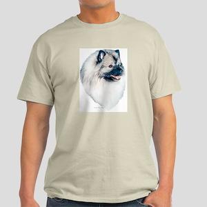 """Keeshond"" Ash Grey T-Shirt"