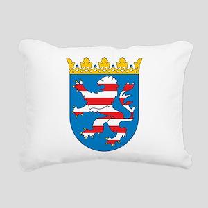 Hesse Coat Of Arms Rectangular Canvas Pillow