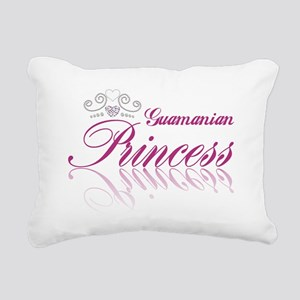 Guamanian Princess Rectangular Canvas Pillow