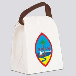 Guam Coat Of Arms Canvas Lunch Bag
