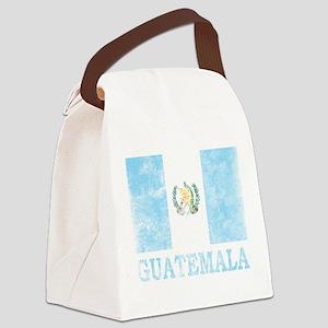 Vintage Guatemala Canvas Lunch Bag
