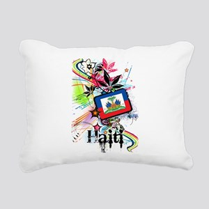 Haiti Rectangular Canvas Pillow