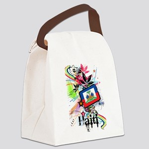 Haiti Canvas Lunch Bag