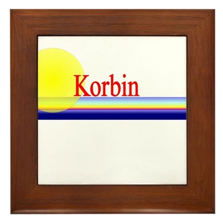 Korbin Framed Tile