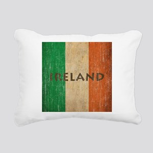 Vintage Ireland Rectangular Canvas Pillow