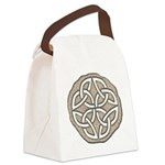 Celtic Knotwork Coin Canvas Lunch Bag