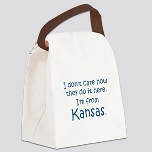 From Kansas Canvas Lunch Bag