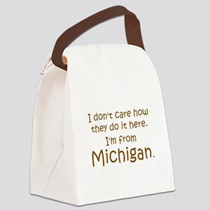 From Michigan Canvas Lunch Bag