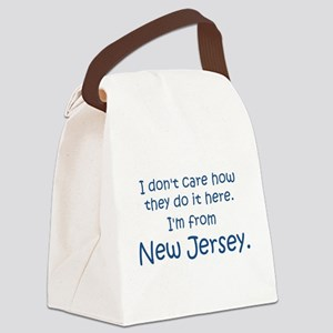 From New Jersey Canvas Lunch Bag