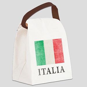 Vintage Italia Canvas Lunch Bag
