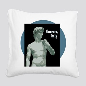 Florence Italy Square Canvas Pillow
