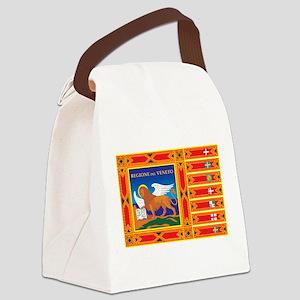 Venice Flag Canvas Lunch Bag