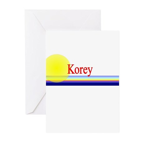 Korey Greeting Cards (Pk of 10)