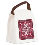 Celtic Valentine Canvas Lunch Bag