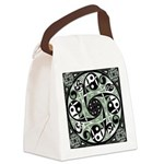 Celtic Spiral Stepping Stone Canvas Lunch Bag
