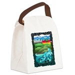 Celtic Castle Tor Canvas Lunch Bag