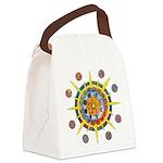 Celtic Stargate Canvas Lunch Bag