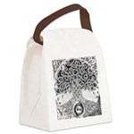 Celtic Tree of Life Ink Canvas Lunch Bag