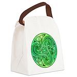 Celtic Triskele Canvas Lunch Bag