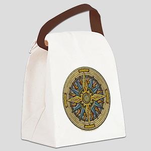 Celtic Compass Canvas Lunch Bag