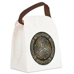 Bejeweled Celtic Shield Canvas Lunch Bag