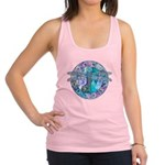Cool Celtic Dragonfly Racerback Tank Top