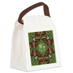 Celtic Dragon Labyrinth Canvas Lunch Bag