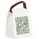 Celtic Knotwork Puzzle Square Canvas Lunch Bag