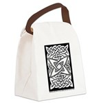 Celtic Knotwork Quasar Canvas Lunch Bag